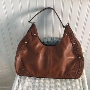 Cole Haan British tan hobo bag with dust bag.